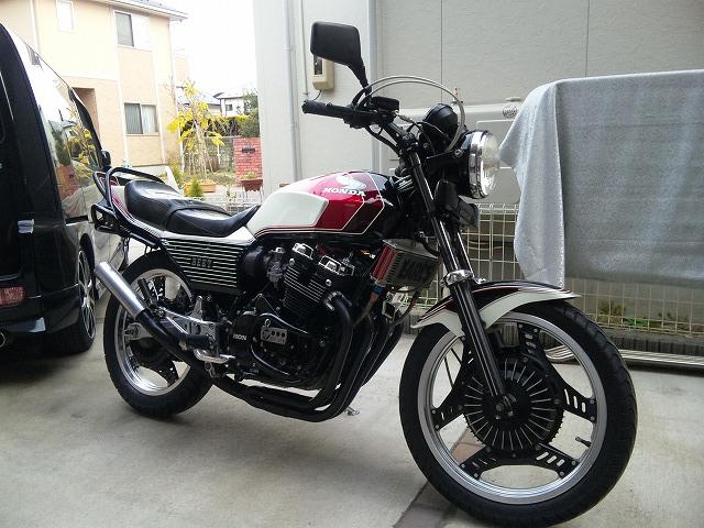 愛車オートバイ