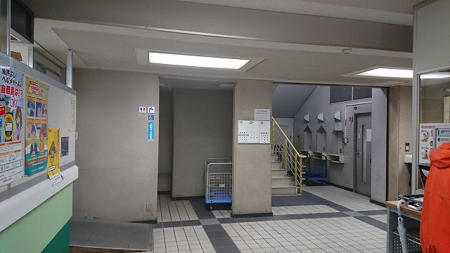埼玉運輸支局建物入ったところ