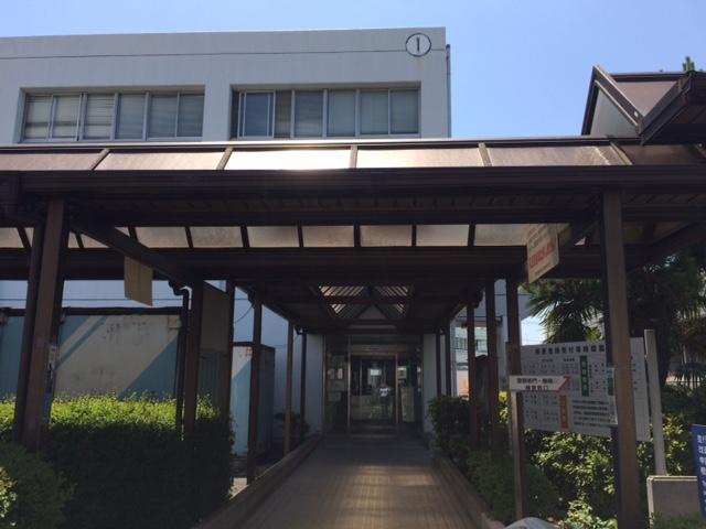 神奈川運輸支局写真:建物入口