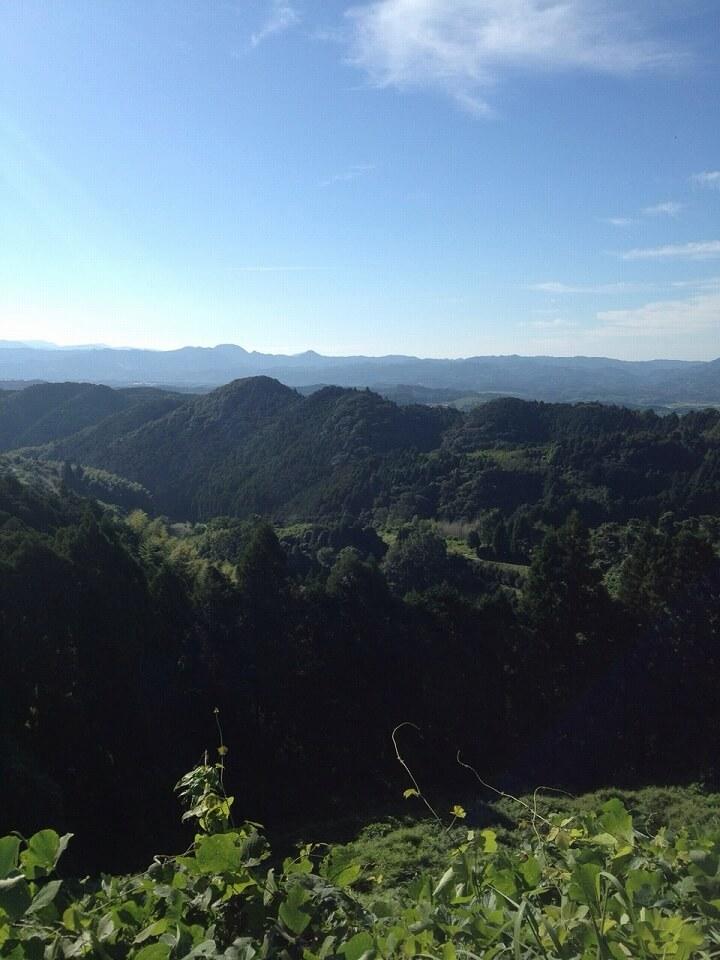 福岡の山々