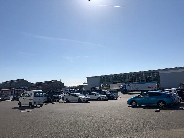 広島運輸支局 駐車場