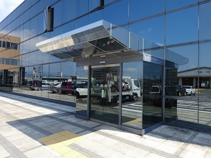 静岡運輸支局 入口