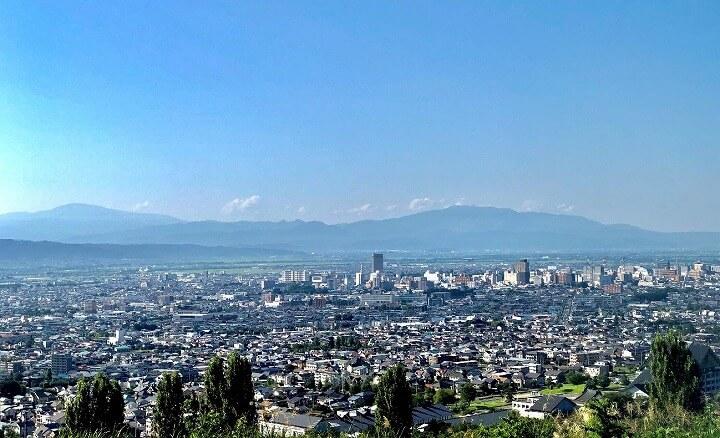 山形市の風景
