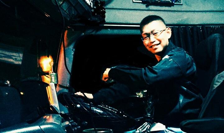 運転手時代の写真