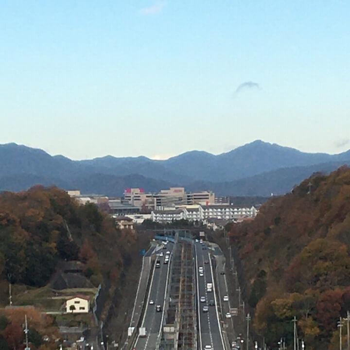 六甲山☆雲海なし
