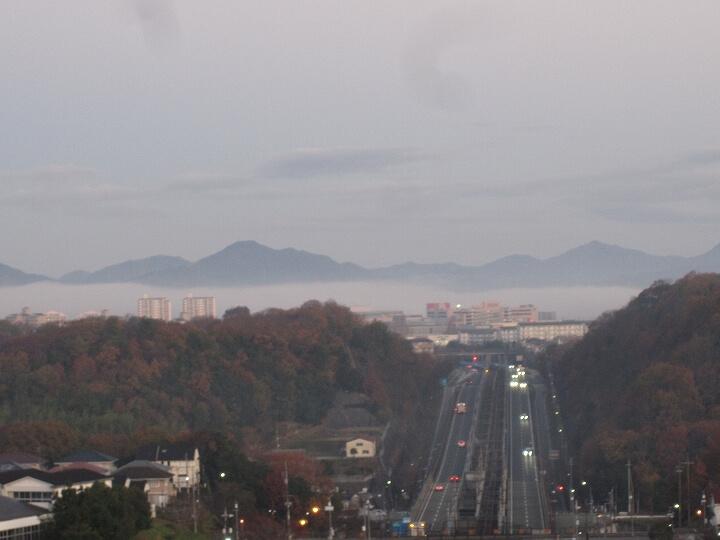 六甲山の雲海