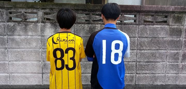 子供たちのサッカー